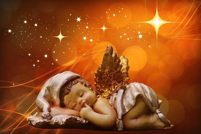 Angel, Little Angel, Christmas, Guardian Angel