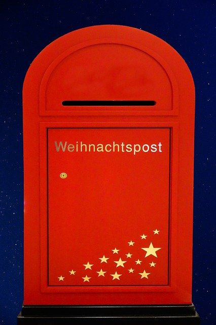 Christmas, Christmas Post, Santa Claus, Letters, Leave
