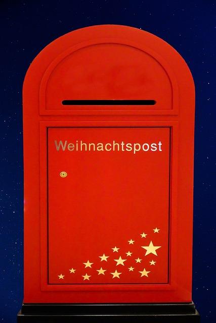 Christmas, Christmas Post, Santa Claus, Letters, Leave