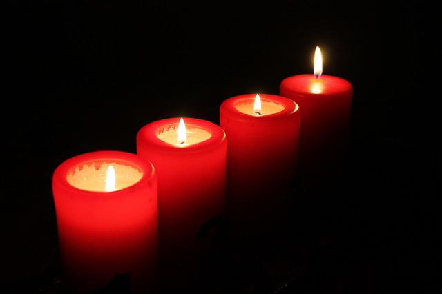 Candles, Light, Advent, Christmas Lights, Darkness