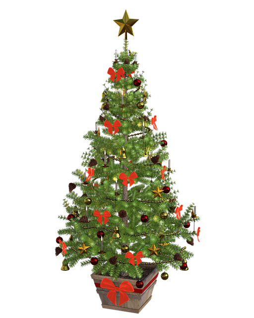 Fir Tree, Christmas, Lights, Balls, Mood, Green