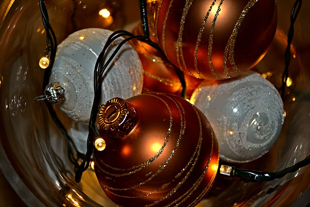 Christmas, Christmas Bulbs, Christmas Balls, Lights