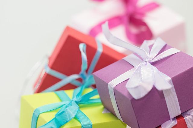 Gifts, Packages, Made, Loop, Packet Loop, Christmas