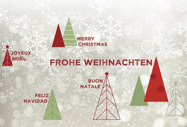Christmas, Christmas Celebration, Map, Invitation