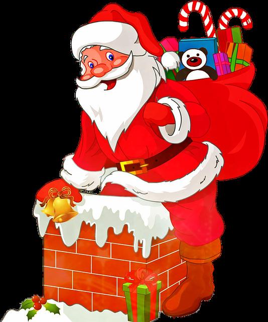 Santa Claus, Christmas, Nicholas, Christmas Market