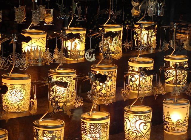 Tea Lights, Advent, Emotion, Christmas Market
