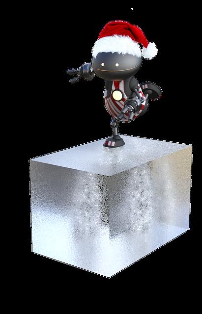 Christmas, Merry Christmas, Robot, Christmas Time