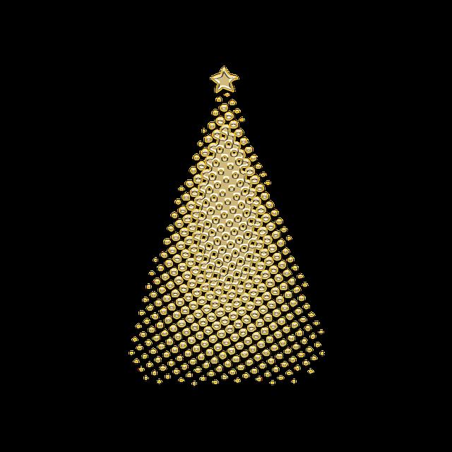 Christmas Tree Decoration Elements: Free Photo Lace Set Retro Decoration Pattern Style Element