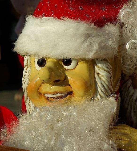 Father Christmas, Christmas, Gifts, Beard, Old Man