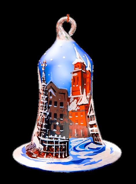 Christmas, Bell, Christmas Ornaments