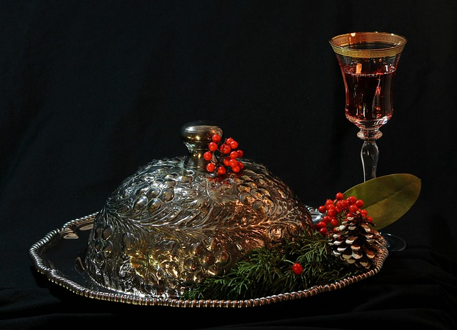 Holiday Still Life, Christmas Party