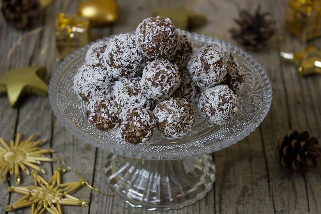 Rum, Rum Balls, Cookies, Christmas, Advent, Coconut