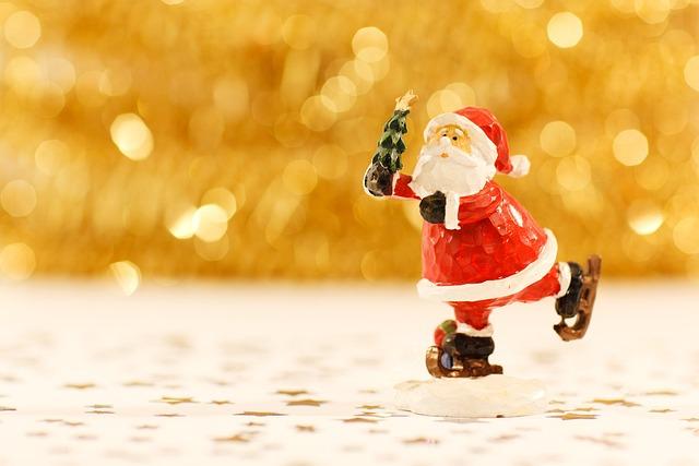 Santa Claus, Christmas, Beard, Celebration, December