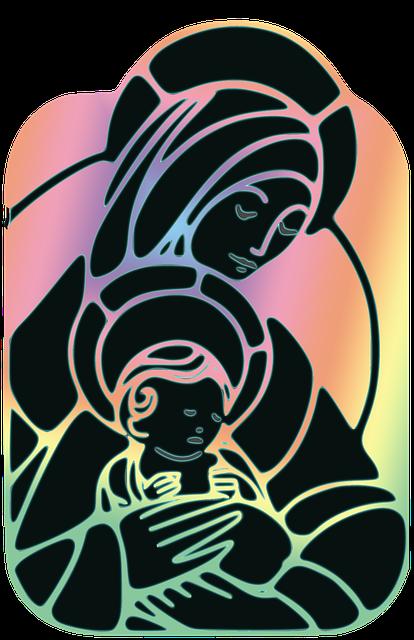 Virgin Mary, Santa Maria, Baby Jesus, Christmas