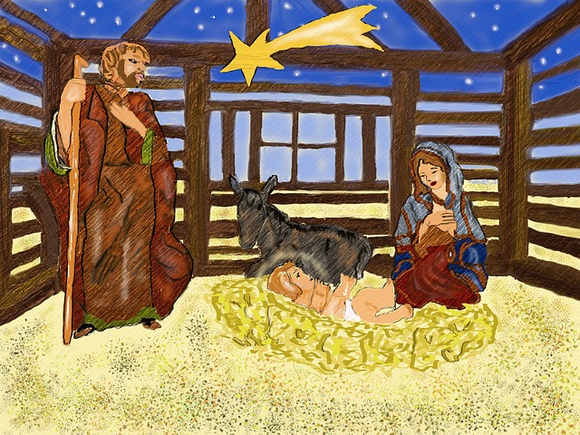 Nativity Scene, Christmas, Santon, Christmas Decoration