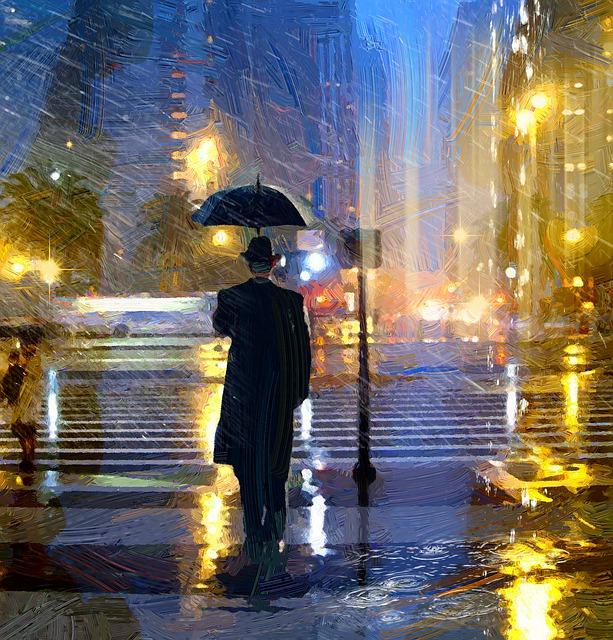 Oil, Rain, Christmas, São Paulo