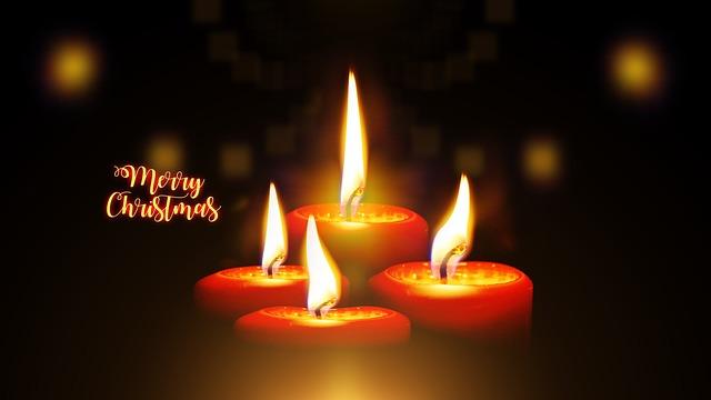 Candles, Christmas, Advent, Light, Burn, Shining
