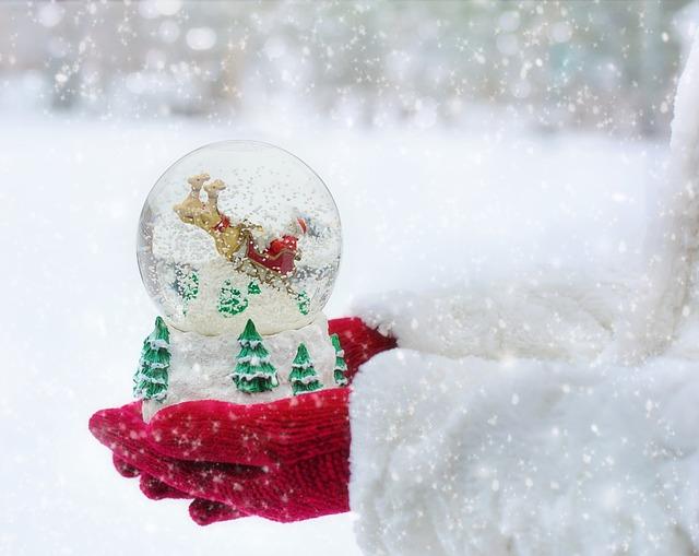 Snow Globe, Christmas, Snow, Globe, Winter, Ball, Xmas