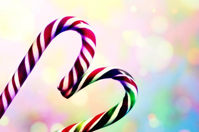 Candy Cane, Sweetness, Sweet, Sugar, Christmas, Treat