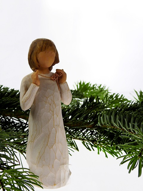 Fir, Conifer, Angel, Christmas, Christmas Time, Faith