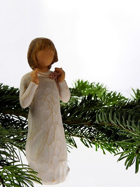 Fir, Conifer, Angel, Christmas, Christmas Time, Faith