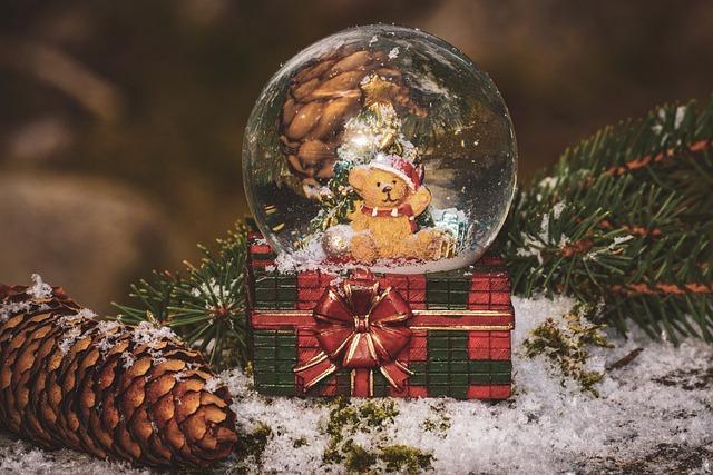Christmas, Snow Ball, Snow, Winter, Christmas Time