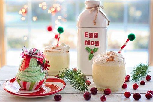 Egg Nog, Christmas, Drink, Eggnog, Xmas, Traditional