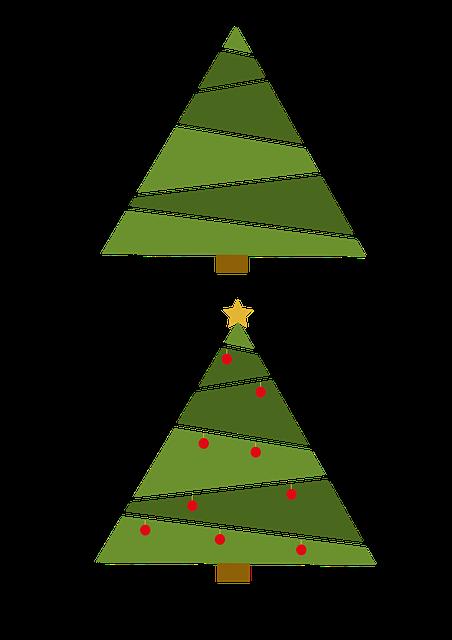 Christmas, Tree, Balls, Star, Fir, Christmas Tree