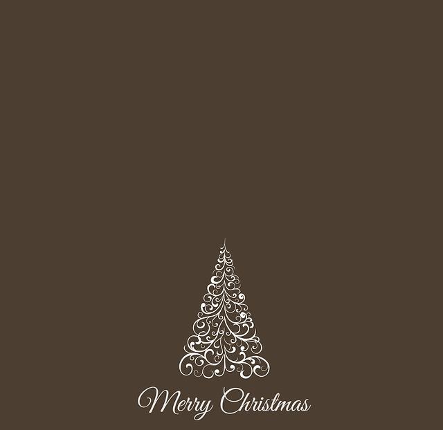 Christmas, Christmas Tree, Greeting Card, Background