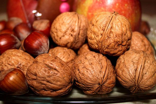 Walnuts, Nuts, Nicholas, Advent, Christmas