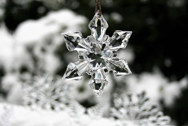 Asterisk, Winter, Snow, Christmas, Holidays, Ice, 2018