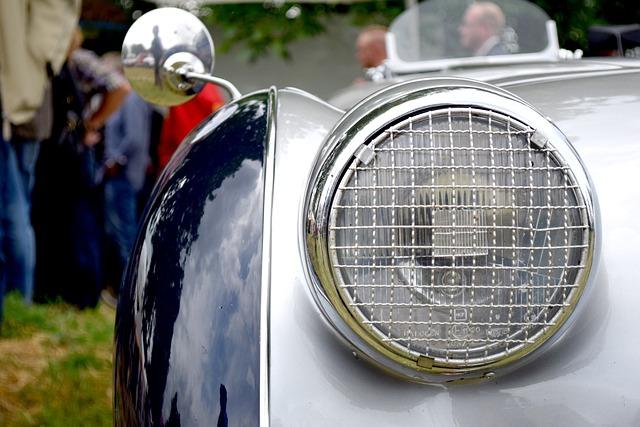 Vehicle, Auto, Oldtimer, Old, Automotive, Chrome