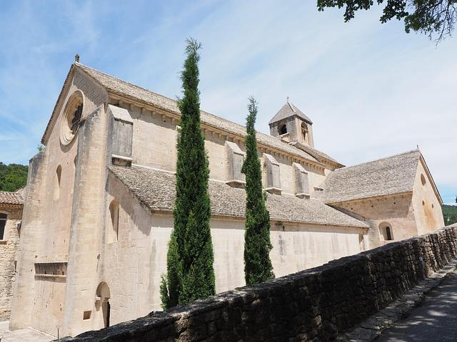 Abbey Church, Church, Abbaye De Sénanque, Monastery