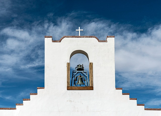 Socorro Mission, Church, New Mexico, Adobe, Catholic