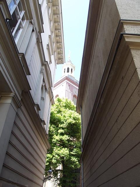 Nikolai Church, St Nikolai, Church, Alley, Eng, Narrow