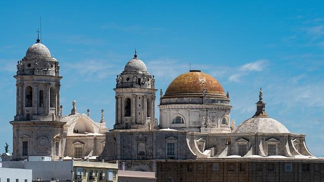 Cadiz, Spain, Cathedral, Architecture, Church
