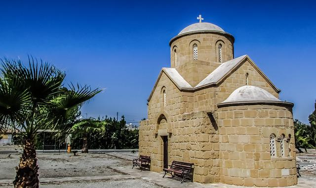 Church, Orthodox, Architecture, Religion, Cyprus