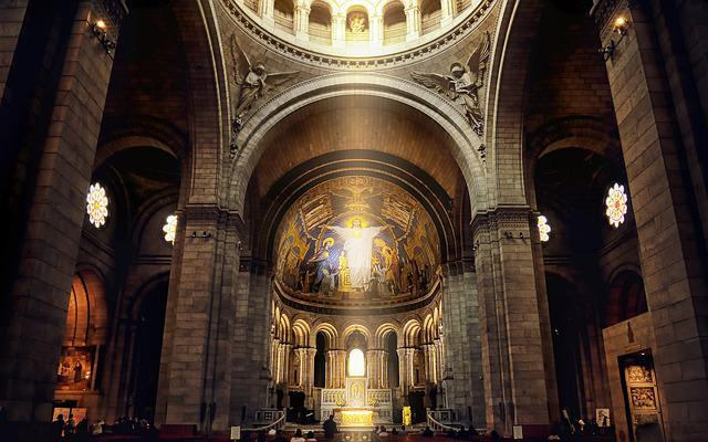 Basilica, Cathedral, Indoors, Architecture, Church