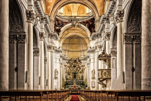 Cathedral, Sicily, Church, Italy, Architecture