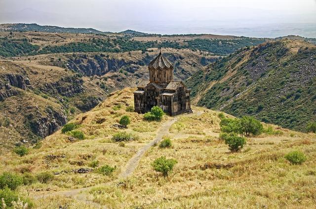 Armenia, Church Of Amberd, Vahramaschen Church, Church