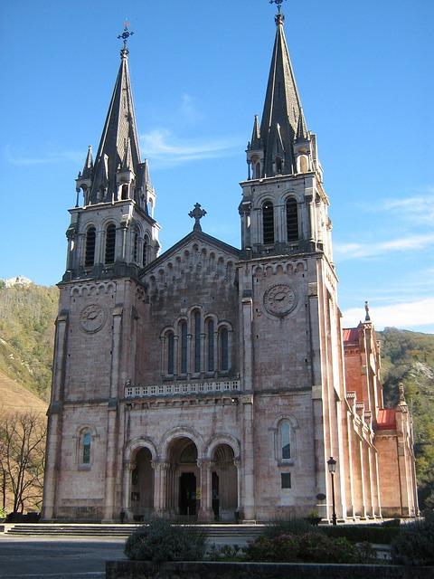 Covadonga, Asturias, Church