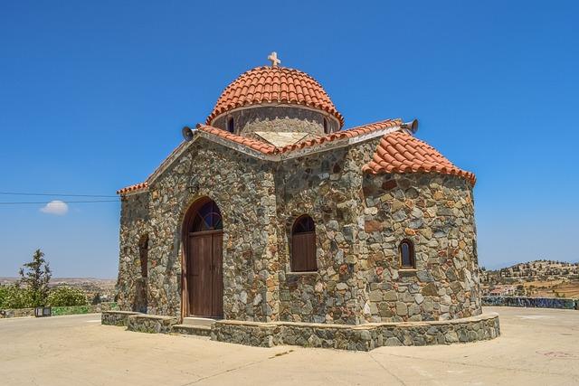 Cyprus, Ayia Varvara, Church, Orthodox, Religion