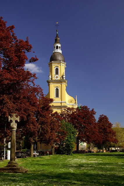 Baroque Church, Church, Baroque, Parish Church