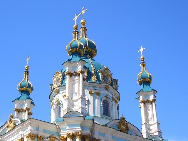 Saint Andrew's Church, Church, Baroque, Capital, Kiew