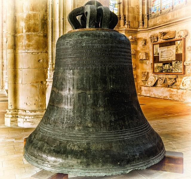 Bell, Church, Sound, Ring, Church Bell, Bronze, Iron