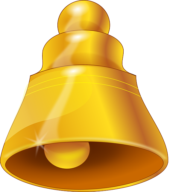 Bell, Gold, Ring, Ringing, Wedding, Church Bells