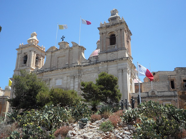 Church, Pride, Raised, Birgu, Malta, Vittoriosa