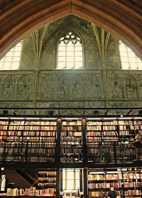 Bookstore, Church, Bookshop, Read, Books, Business