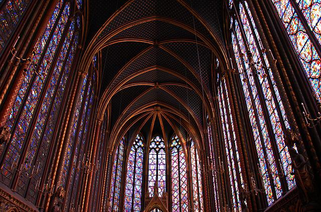 Paris, Holy Chapel, Church, Cathedral, St Louis