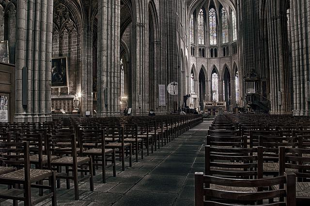 Cathedral, Limoges, Church, Religion, Prayer